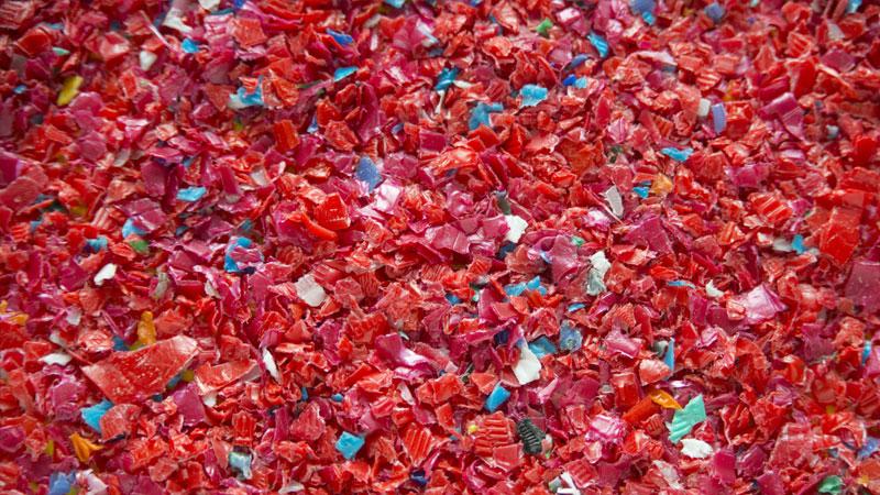 ilVespaio e la plastica riciclata